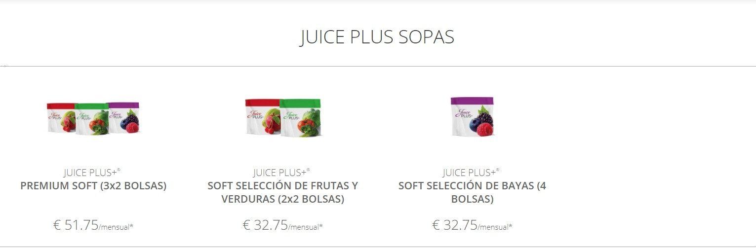 precio juice plus