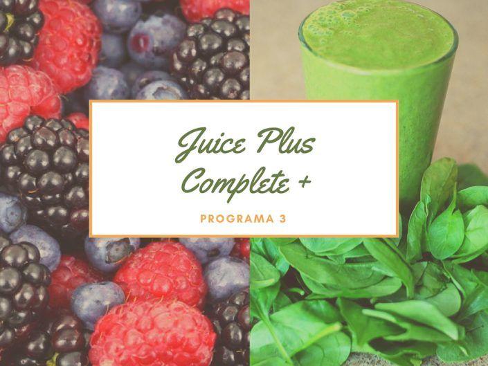 dieta adelgazar juice plus complete