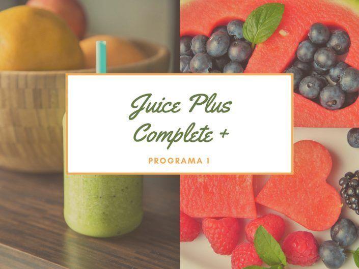 Programa para adelgazar con Juiceplus